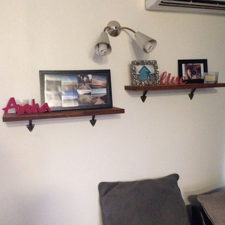 Our new shelves