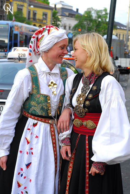 Costumes from Aust Agder and Beltestakk from Telemark