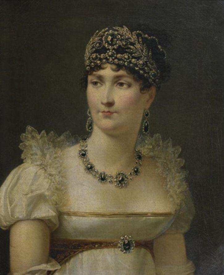 ca. 1810 a imperatriz Josephine por Jean Baptiste Regnault (leiloada pela Tajan) | Grandes senhoras | gogm