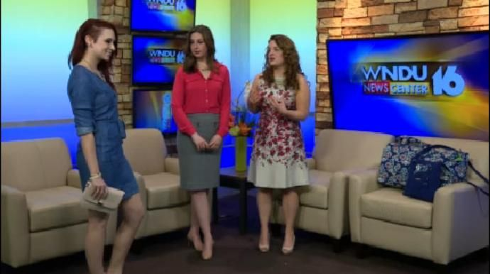 Emily Zimmerman joined Tricia Harte on 16 Saturday Morning to discuss Spring fashion trends.