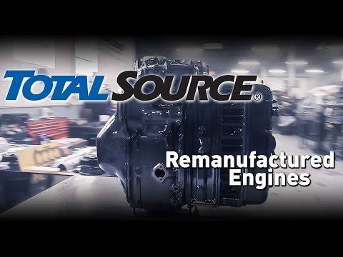 TotalSource: Remanufactured Engines - YouTube