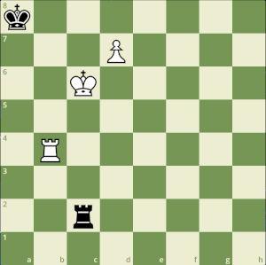 Rank 03 Endgame Puzzle