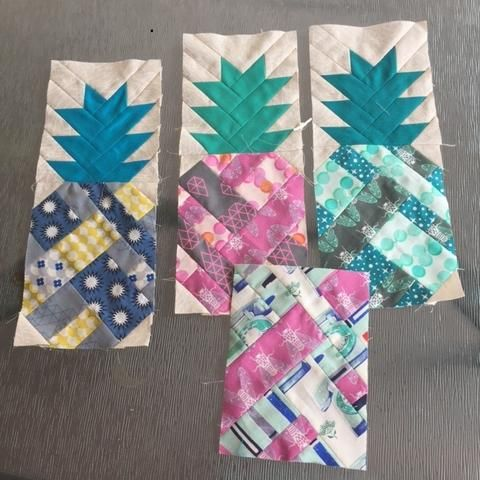 Pineapple farm quilt pattern review, pineapple quilt, Elizabeth Hartman pineapple