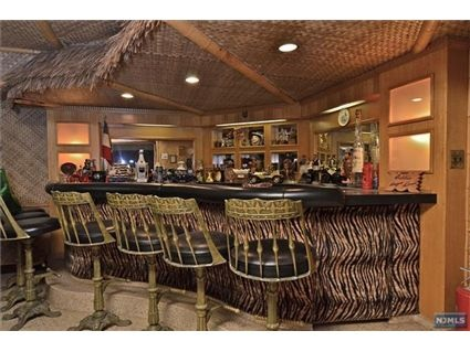 Basement tiki bar...so cool! | Exciting Entertainment