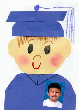 This TLC Graduation Lesson is a fun activity to do at the end of the Kindergarten year.The TLC directed art lessons are designed to help the ch...