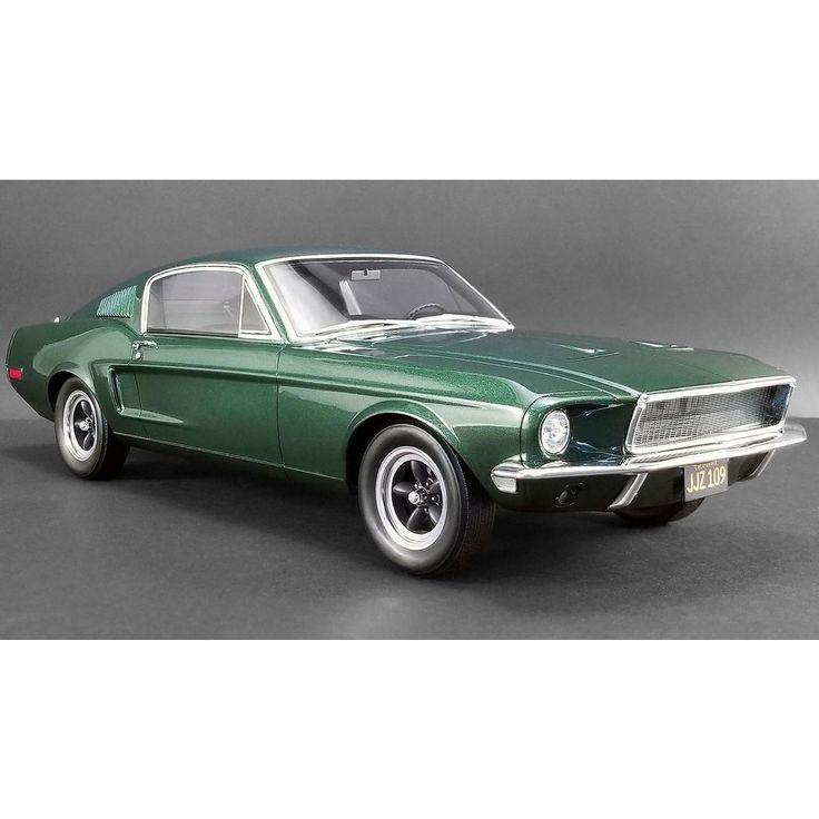 1968 ford mustang gt fastback highland green bullitt