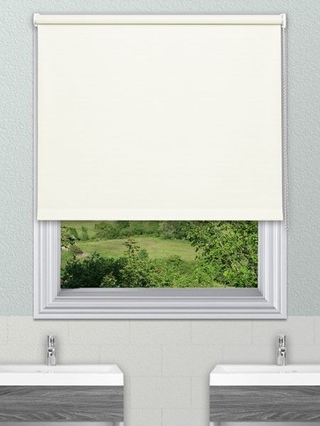 Unilux Cream Waterproof Blinds - Our Unilux Waterproof PVC Roller Blind fabric is available in 14 plain colours. The fabrics are very easy to wipe clean and are water and mould resistant.