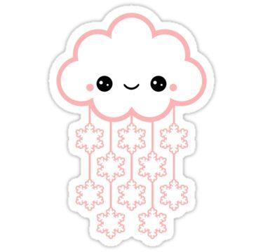 Cute Pink Snow by sugarhai