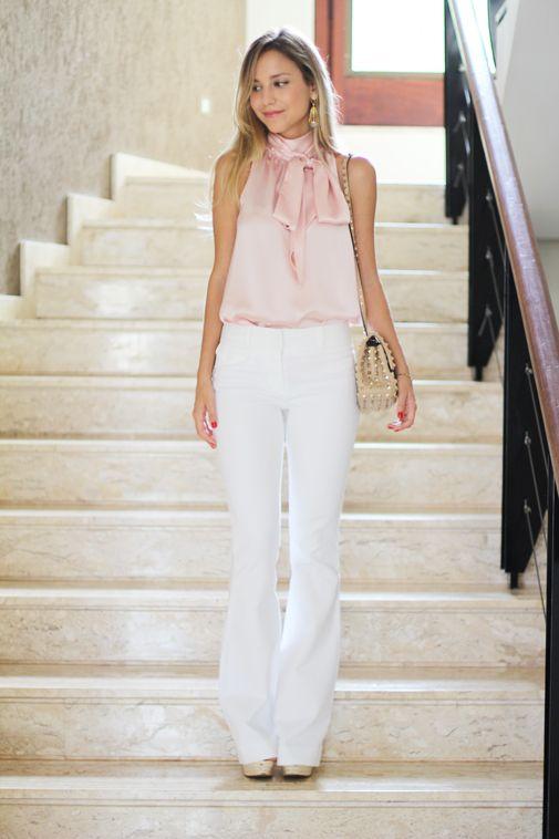 Look – Grace calça branca