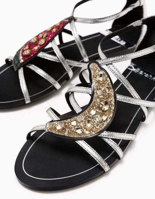 Sandały damskie Bershka