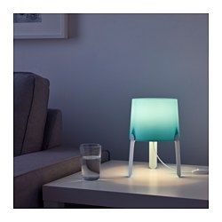 TVÄRS Lampada da tavolo, turchese - - - IKEA