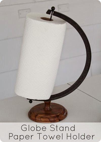 Globe Stand Paper Towel Holder