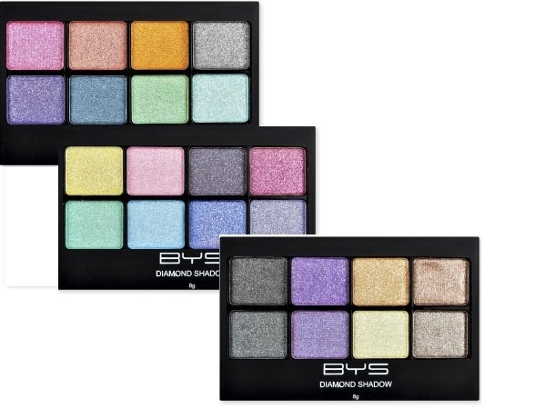 Make-up center BYS paleta Diamond Shine  Pret special: 18,00RON    Comandati aici: http://www.makeupcenter.ro/paleta-diamond-shine-p-397.html