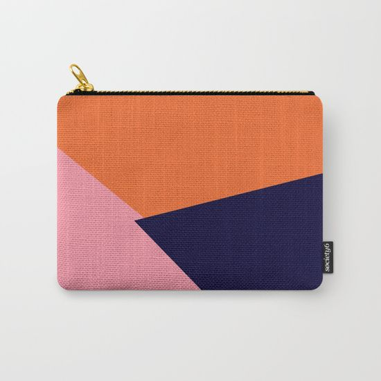 Sweet Harmony Carry-All Pouch by Bravely Optimistic | Society6