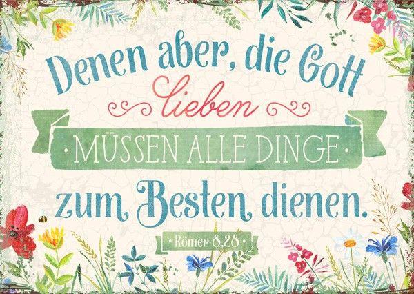 Postkarte - Die Gott lieben