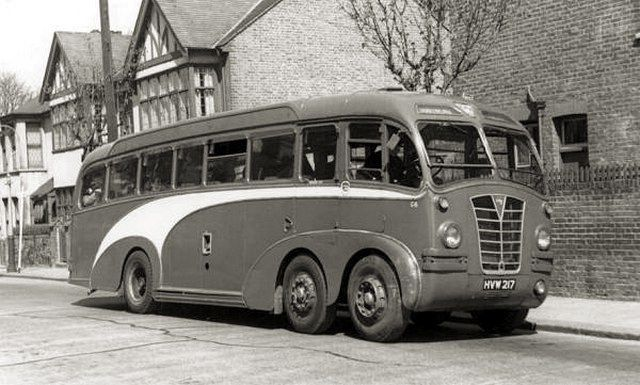 1939 Leyland TEC2 'Gnu' with Duple FC39C body r by kitchener.lord, via Flickr