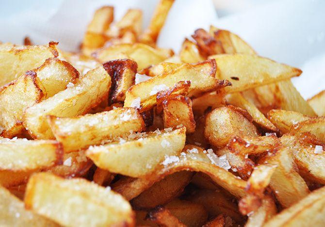 Οι πιο τραγανές πατάτες
