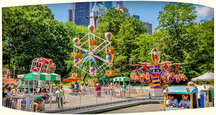 Victorian Gardens Amusement Park New York