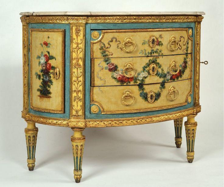 Italian commode  18th century  maker: Giuseppe Maria Bonzanigo (1745-1820)