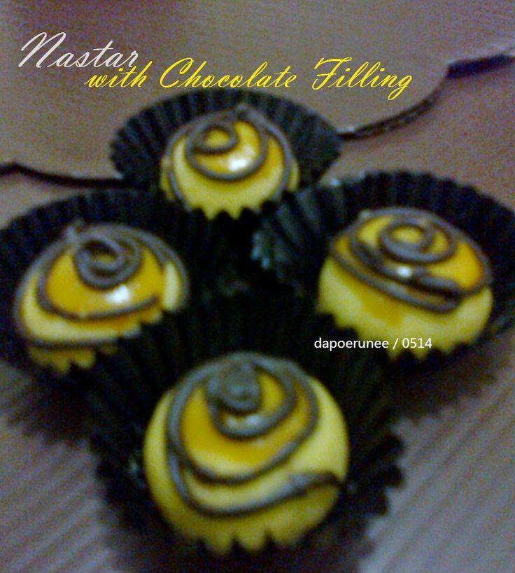dapoerunee : Nastar with Chocolate Filling