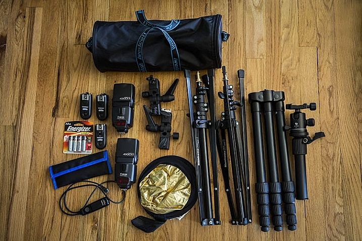 How to Build an On-Location Photography Lighting Kit