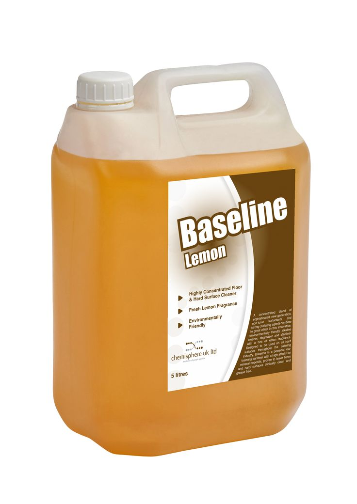 Baseline Lemon is a powerful, low-foaming sanitiser with a hint of fresh lemon fragrance. The readily biodegradable and environmentally benign ingredients from sustainable and naturally occurring raw materials provide optimum cleaning properties with minimal environmental impact.