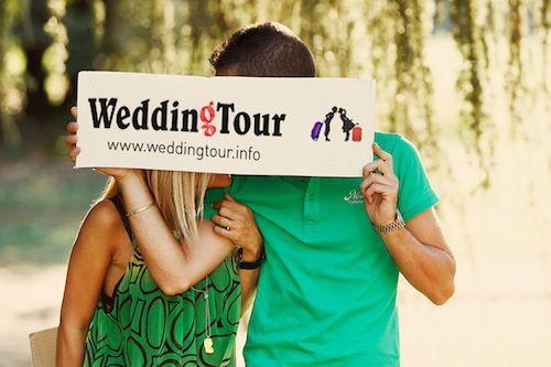 Wedding tour 2012: in viaggio di nozze con lo sponsor!