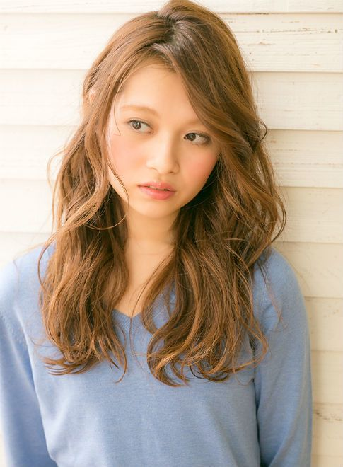 お洒落無造作ロングゆるウェーブパーマ 【drive for garden】 http://beautynavi.woman.excite.co.jp/salon/21107?pint ≪ #longhair #longstyle #longhairstyle #hairstyle ・ロング・ヘアスタイル・髪型・髪形≫