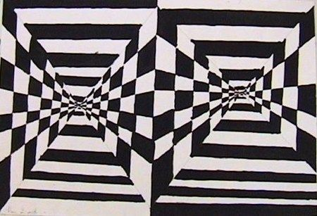 optical illusion art