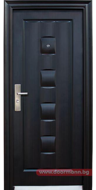 Блиндирана входна врата - Код 137-P