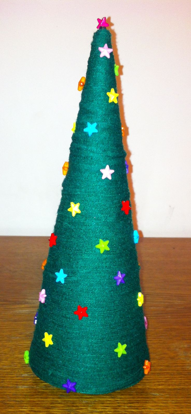 Stars on Christmas tree