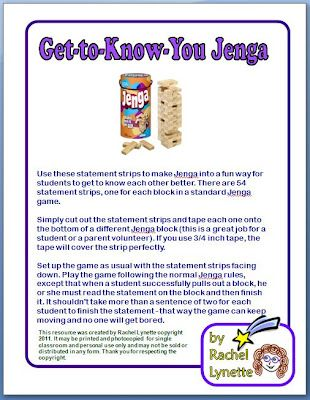 Jenga - use sight words too: Elementary Schools Counselor, Classroom Freebies, Schools Ideas, Website, Schools Counseling, Gettoknowyou, Schools Games, Ice Breakers, Get To Know You Jenga