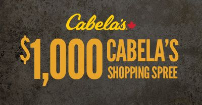 As you prepare for a busy fall hunt or adrenaline-filled outdoor activity, let Cabela's outfit your entire season. Enter to win a $1,000 Cabela's Canada gift card.