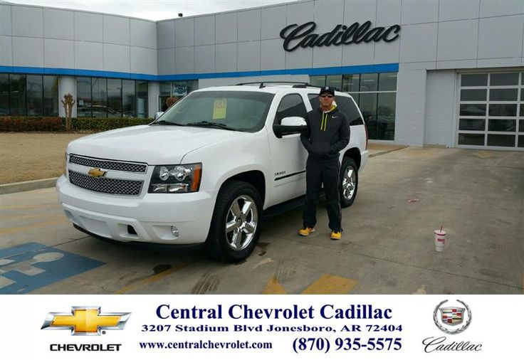 I had an over all great experience at Central Chevrolet. My salesman Derek Headley did an outstanding job of getting the exact vehicle that I was looking for. . I couldn't be happier with my sales or my new Chevy Tahoe. If your in the market for a new or pre-owned vehicle I would highly recommend going to see Derek. - Tim Fowler, Saturday, January 31, 2015 http://www.centralchevrolet.com/?utm_source=Flickr&utm_medium=DMaxx_Photo&utm_campaign=DeliveryMaxx