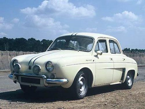 ma première voiture : Renault Dauphine Gordini