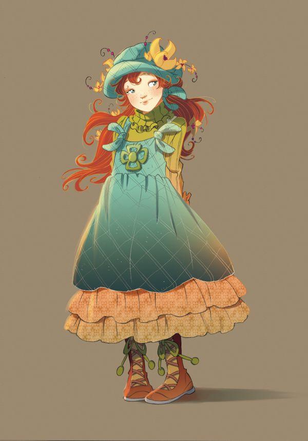 Fairy Oak-Vanilla Periwinkle