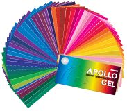 Apollo Gel, color media, lighting gel, Apollo Filters, Rosco Gel, Lee Gel, Gam Gel