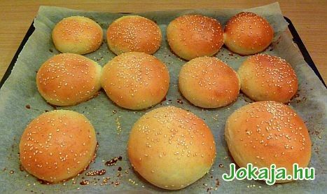Joghurtos hamburgerzsömle