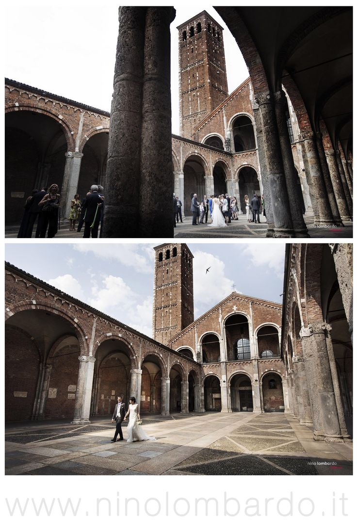 Milano, Italy •Basilica Sant'Ambrogio • © www.ninolombardo.it