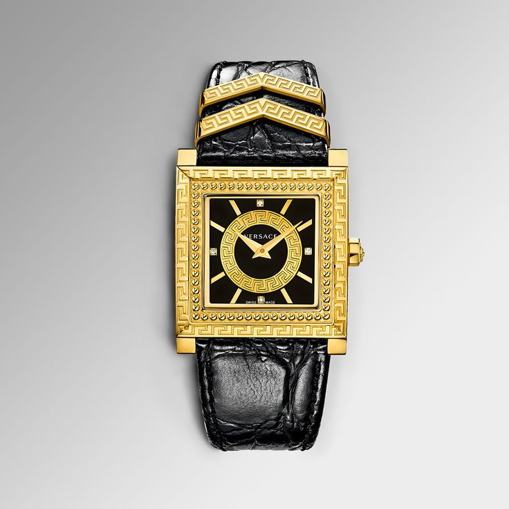 Iconic essence. Discover the powerful #DV25 watch on versace.com