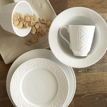If only I could rent tableware that looked so eclectic and clean... maybe I will just have to buy it for my house!