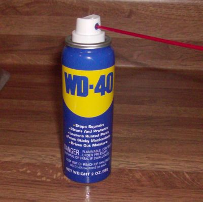 43 uses for WD-40. Fix knotted jewelry, tar stains, keep pigeons away, glass shower doors spot free, etc.