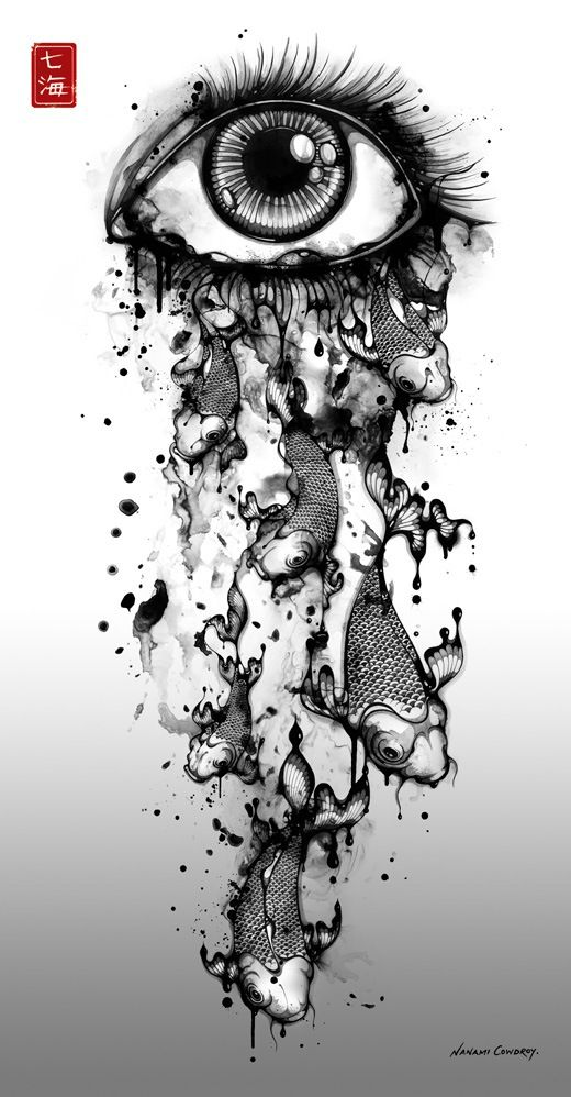Piccsy :: Ink Tears