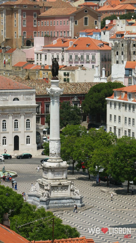 Rossio Square in Lisbon