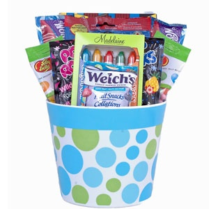 12 best easter gifts gift baskets images on pinterest easter the goodies in this gorgeous design include fun shaped chocolates welchs fruit chews pop negle Choice Image