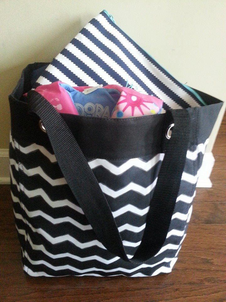 The Essential Storage Tote From Thirty One Can Be Used For