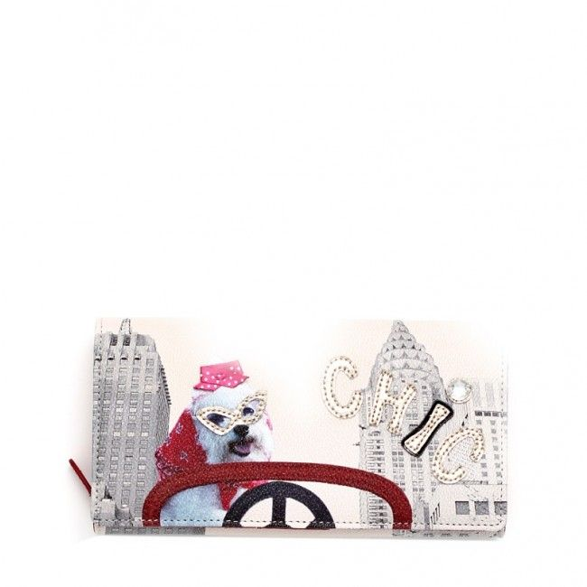 Portafoglio Braccialini con clip Crazy Animals B9774 #braccialini #fashion #wallets #crazyanimals