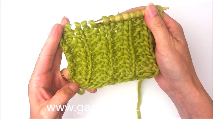 DROPS Knitting Tutorial - How to work a simple textured pattern