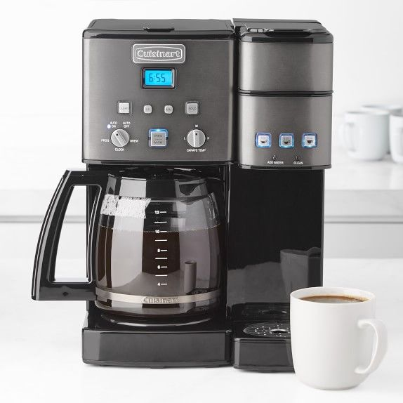 Cuisinart Coffee Center And Single Serve Brewer With Glass Carafe Coffee Center Coffee Cuisinart
