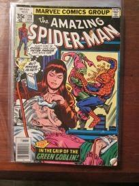Amazing Sipder-man #178 GREEN GOBLIN Anunt May Mary Jane Marvel Comics Free Shipping